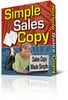 Thumbnail Simple Sales Copy with mrr