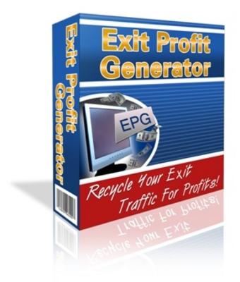 Product picture Exit Profit Generator