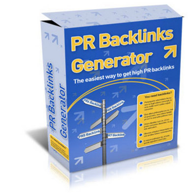 Product picture Pr_Backlinks_Generator_Software_Master_Resell_Rights