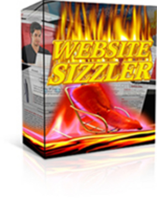 Product picture Website sizzler with master resell rights