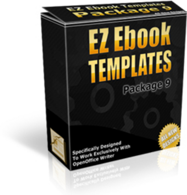 Product picture Ez Book Templates Package 9 with mrr