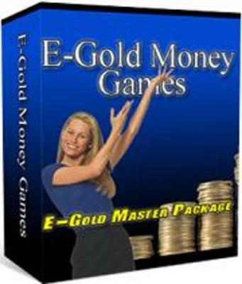 Product picture E-Gold Money Games Master Package