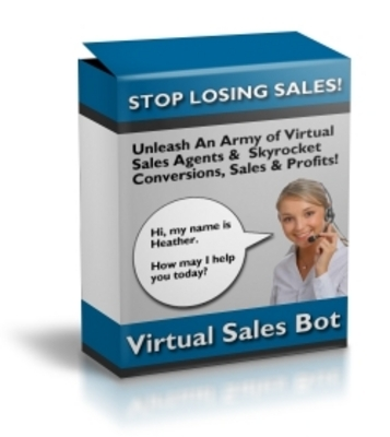 Product picture Virtual Sales Bot with mrr