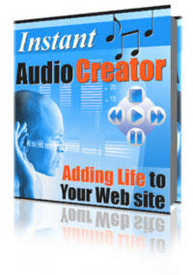 Product picture Instant Audio Creator Full MASTER Resale & Rebranding Rights