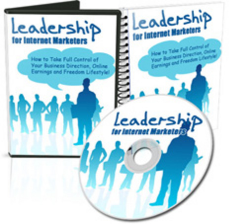 Product picture Leadership For Internet Marketers