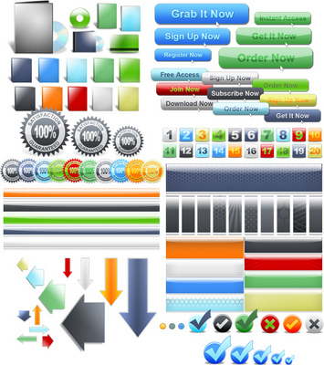 Product picture Web 2.0 Graphics Pack V2