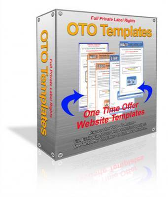 Product picture One Time Offer Templates with PLR