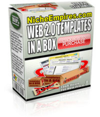 Product picture Web 2.0 Templates In A Box